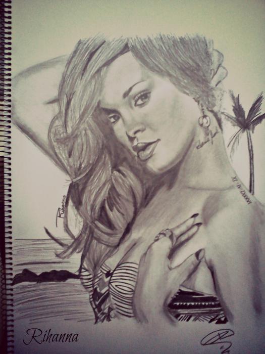 Rihanna by Mitsos